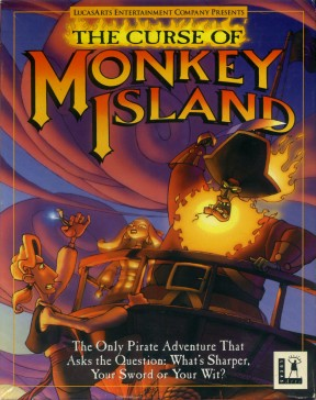 Monkey Island 3 PC Cover