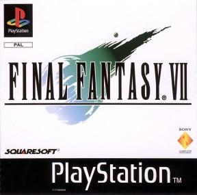 Final Fantasy VII PSOne Cover