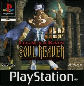 Legacy of Kain: Soul Reaver PSOne Cover