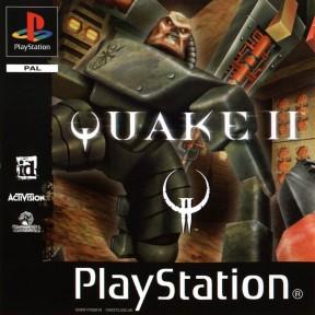 Quake II PSOne Cover