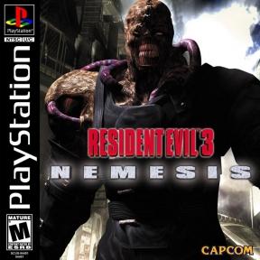 Resident Evil 3: Nemesis PSOne Cover