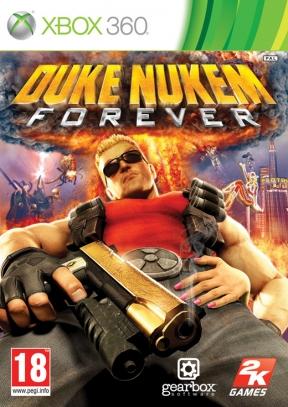 Duke Nukem Forever Xbox 360 Cover