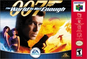 007: The World is not Enough N64 Cover
