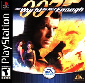 007: The World is not Enough PSOne Cover