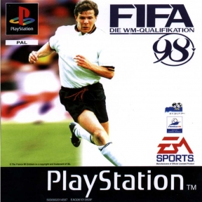 Fifa 98 Road To World Cup PSOne Cover