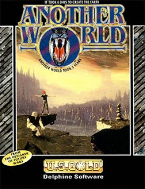 Another World PC Cover