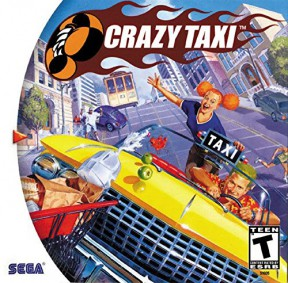 Crazy Taxi Dreamcast Cover