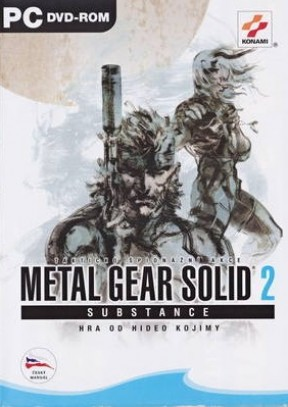 Metal Gear Solid 2: Substance PC Cover