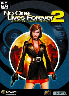 No One Lives Forever 2 PC Cover