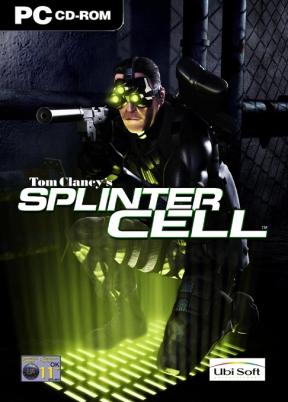 Splinter Cell PC Cover