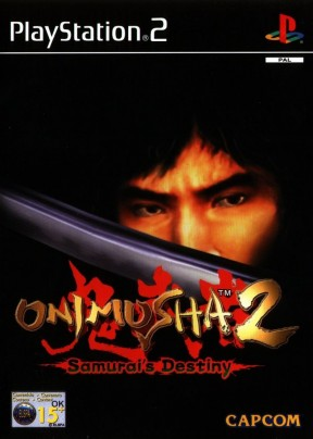 Onimusha 2: Samurai's Destiny PS2 Cover