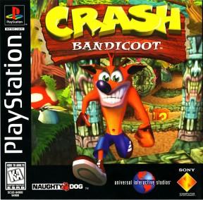 Crash Bandicoot PSOne Cover