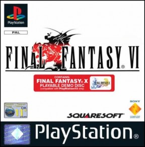 Final Fantasy VI PSOne Cover