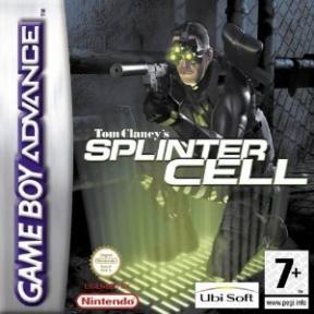 Splinter Cell Game Boy Cover