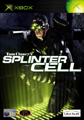 Splinter Cell Xbox Cover