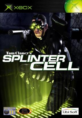 Splinter Cell Xbox Cover