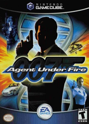 007: Agent Under Fire GameCube Cover