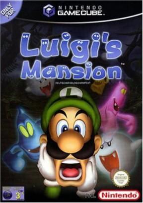 Luigi's Mansion GameCube Cover