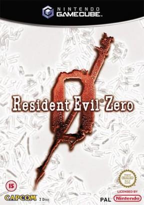 Resident Evil 0 GameCube Cover