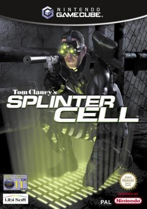 Splinter Cell GameCube Cover