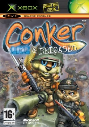 Conker: Live and Reloaded Xbox Cover