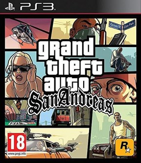 Grand Theft Auto: San Andreas PS3 Cover