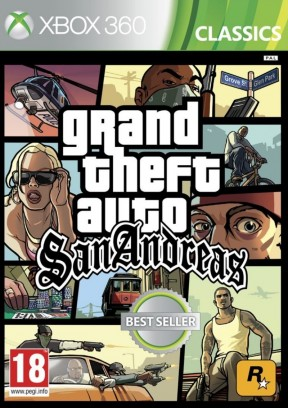 Grand Theft Auto: San Andreas Xbox 360 Cover