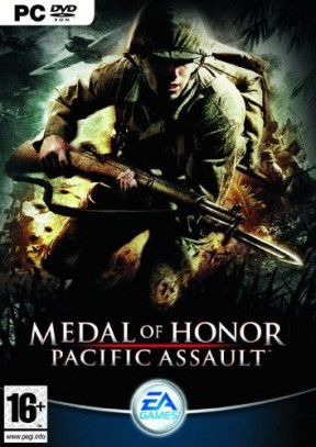 Medal of Honor Pacific Assault PC Cover
