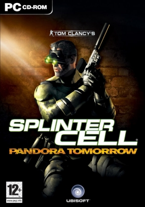 Splinter Cell: Pandora Tomorrow PC Cover