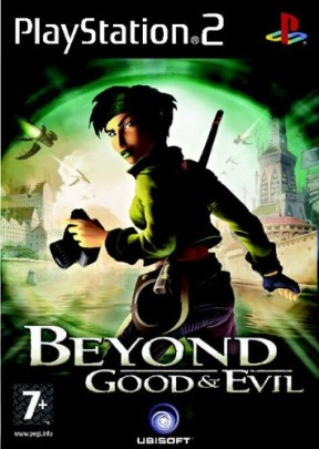 Beyond Good & Evil PS2 Cover