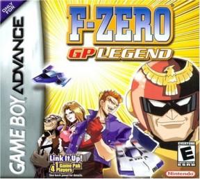 F-Zero: GP Legend Game Boy Cover