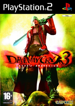 Devil May Cry 3 PS2 Cover