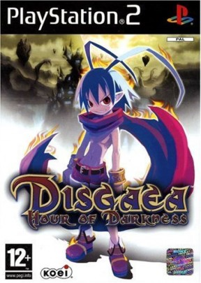 Disgaea: Hour of Darkness PS2 Cover