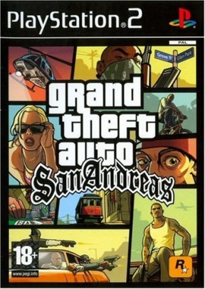 Grand Theft Auto: San Andreas PS2 Cover