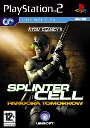 Splinter Cell: Pandora Tomorrow PS2 Cover
