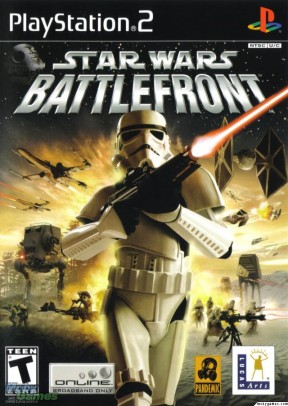 Star Wars: Battlefront (2004) PS2 Cover