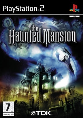 The Haunted Mansion PS2 Cover