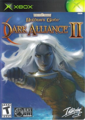 Baldur's Gate II: Dark Alliance Xbox Cover