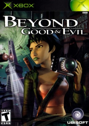 Beyond Good & Evil Xbox Cover