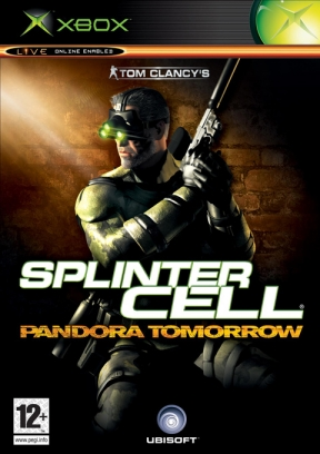 Splinter Cell: Pandora Tomorrow Xbox Cover