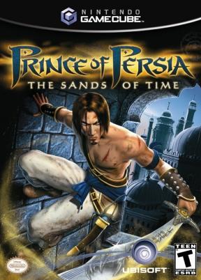 Prince of Persia: Le sabbie del tempo GameCube Cover