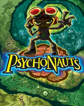 Psychonauts PS4 Cover