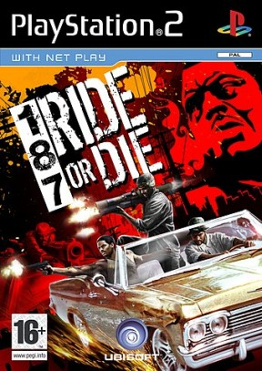 187 Ride or Die PS2 Cover