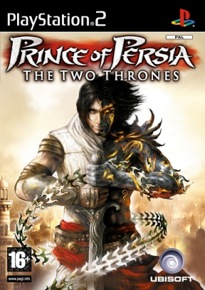 Prince Of Persia: i due troni PS2 Cover