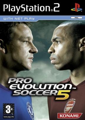 Pro Evolution Soccer 5 PS2 Cover