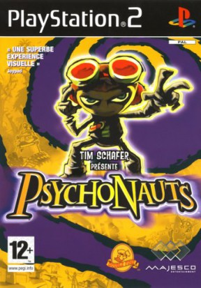 Psychonauts PS2 Cover