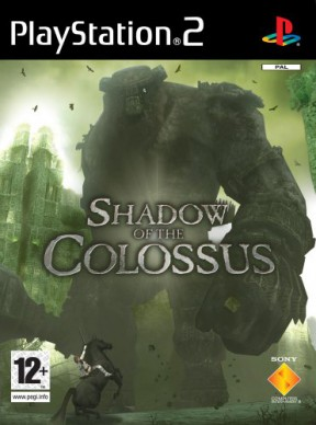 Shadow of the Colossus PS2 Cover