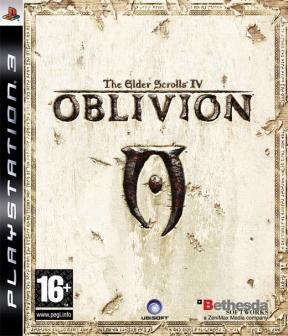 The Elder Scrolls IV: Oblivion PS3 Cover