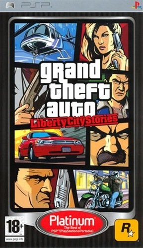Grand Theft Auto: Liberty City Stories PSP Cover