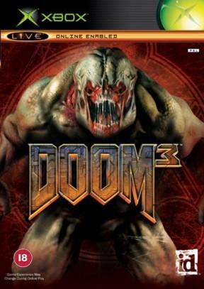 Doom 3 Xbox Cover